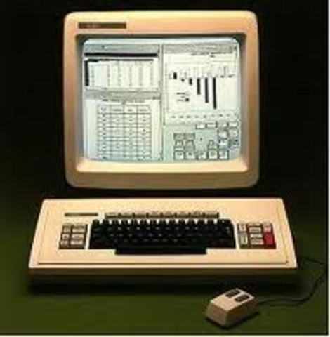 The first home computer with a GUI, graphical user interface.