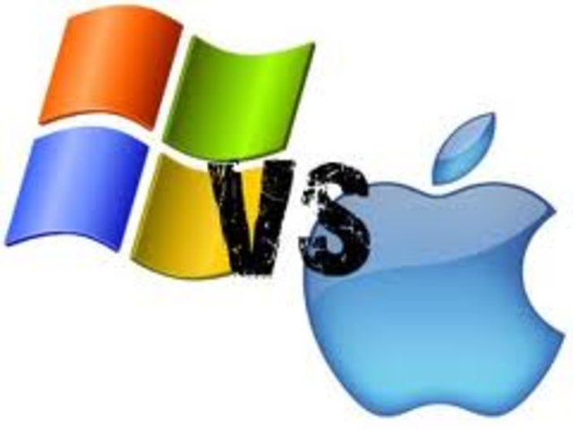 Microsoft begins the friendly war with Apple.