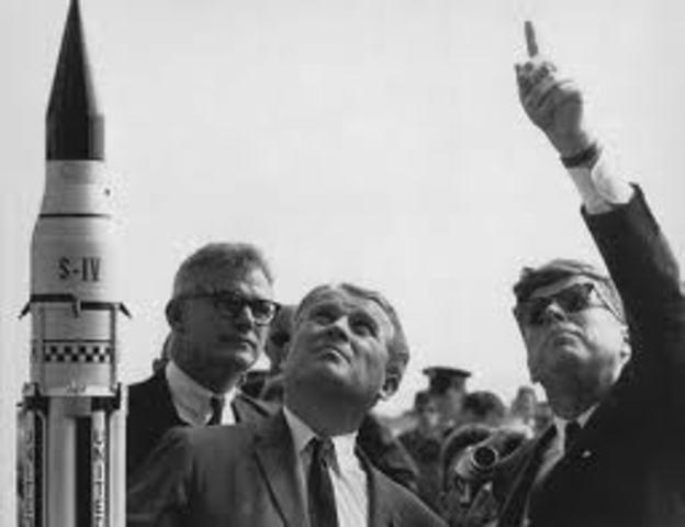 """JFK Delivers """"New Frontier"""" Speech"""