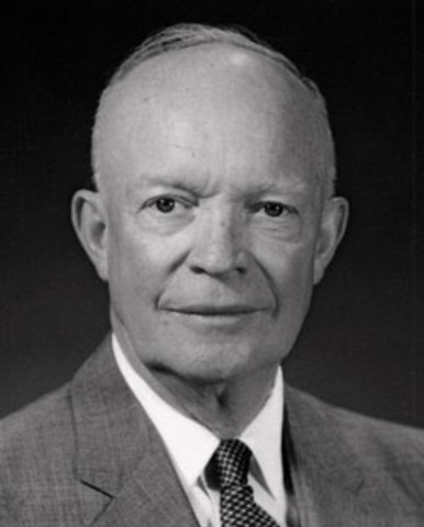President Eisenhower establishes the anti-discrimination Committee on Government Contracts