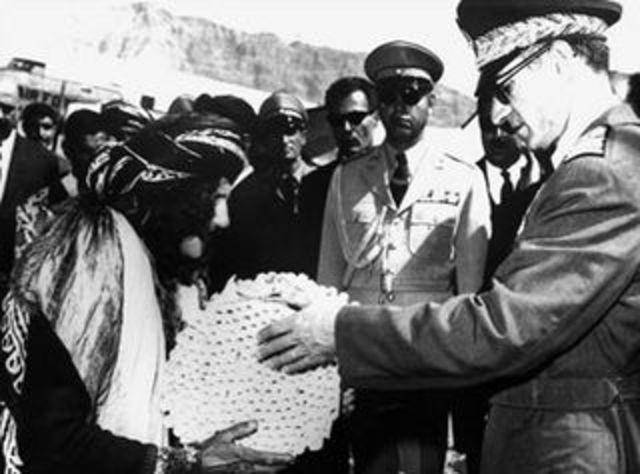 "The Shah announces the ""White Revolution"""