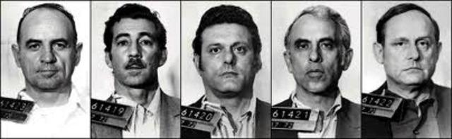 Five men arrested