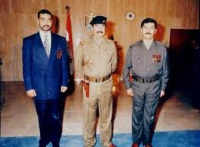 Saddams sons
