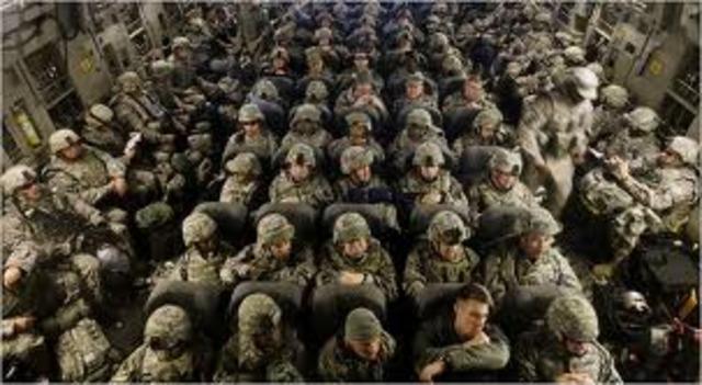 More troops