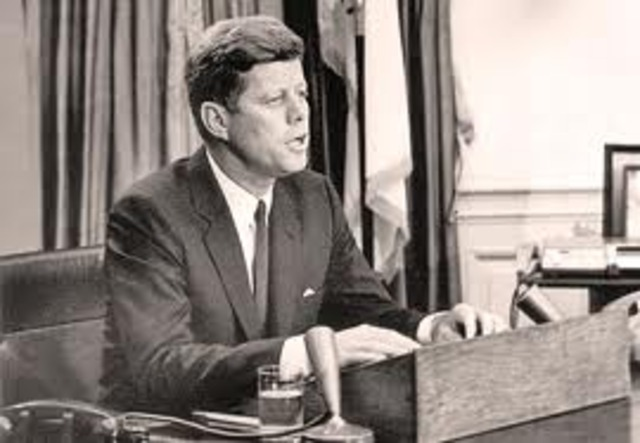 Kennedy Addresses the Nation about Civil Rights
