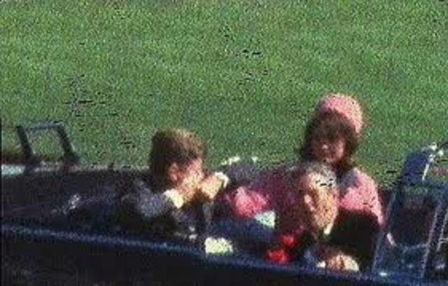 JFK Assassinated in Dallas, Texas