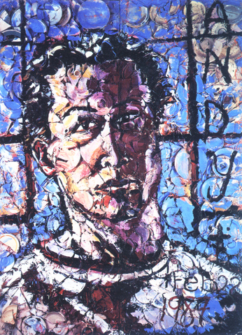 Julian Schnabel - Autoportrait à l'ombre d'Andy