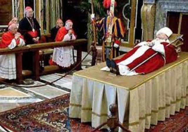 Death of Pope John Paul II