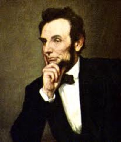 Abraham Lincoln elected President of United States