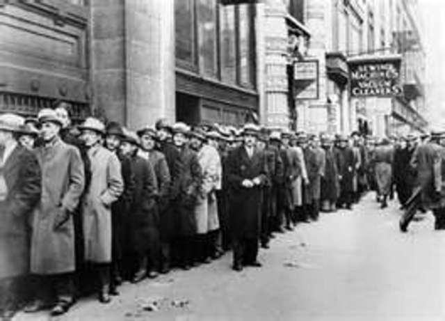 Unemployment going up