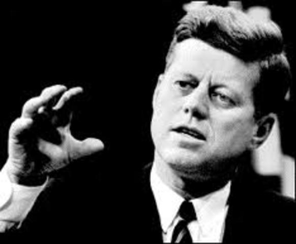 Kennedy Starts Moon Race