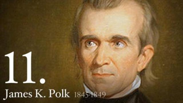 President James K. Polk Assures Gold