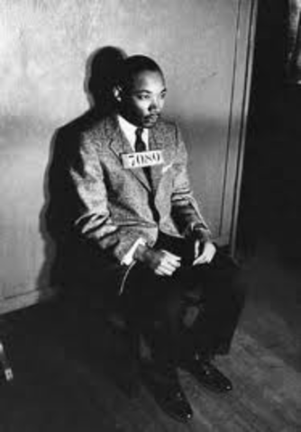 Dr. King goes to jail