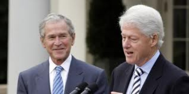 People of the Year: Bill Clinton and George H.W. Bush