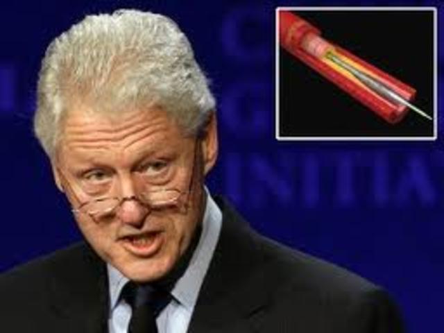 Bill Clinton Hospitalized.