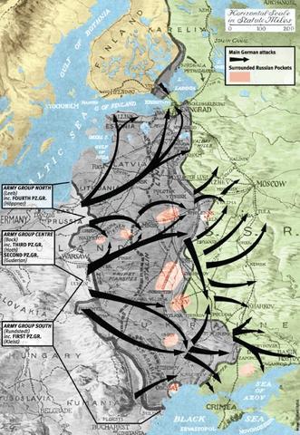 Hitler attacks Russia  Operation: Barbarossa