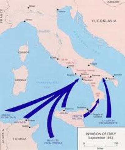 Allies invade Sicily