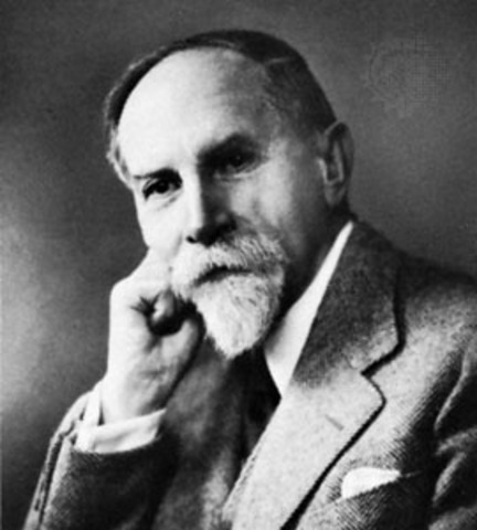 Adolf Meyer, MD. published The Philosophy of Occupational Therapy