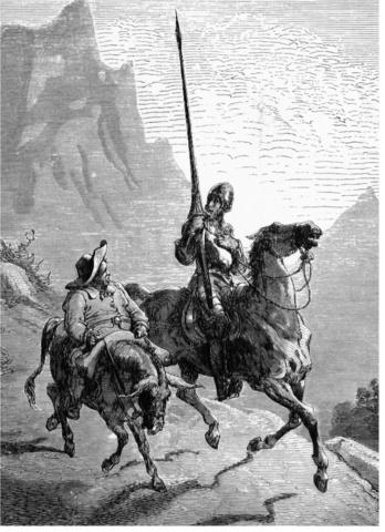 Publicación del Ingenioso Hidalgo Don Quixote de la Mancha