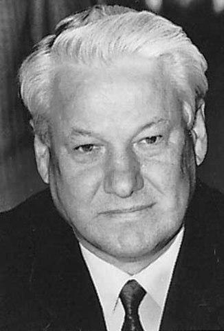 Boris Yeltsin elected to presidency of Russia