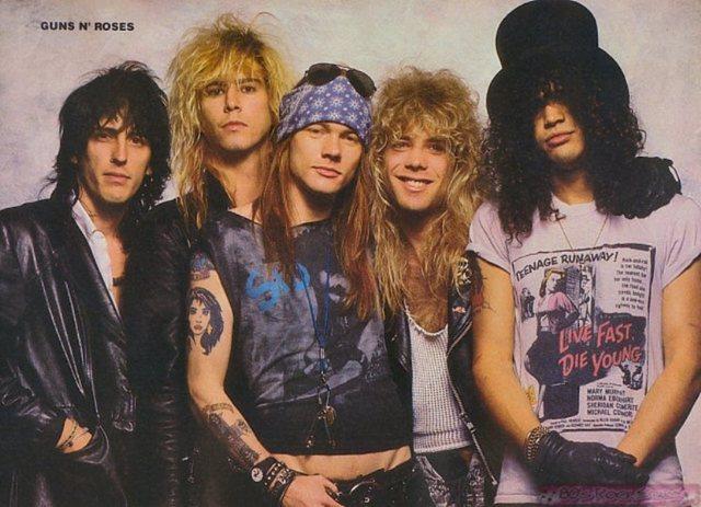 Guns 'N' Roses emerges