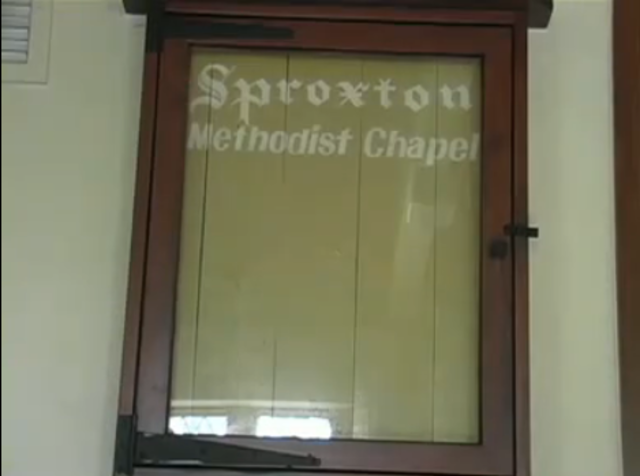 Chapel closes in Sproxton