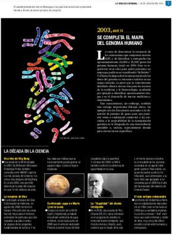 Se completa el Genoma Humano