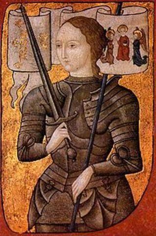 Joan of Arc Burned