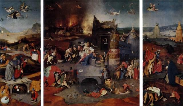 Jérome Bosch - La tentation de Saint-Antoine