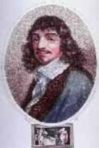 nacimiento y aportes de Rene Descartes