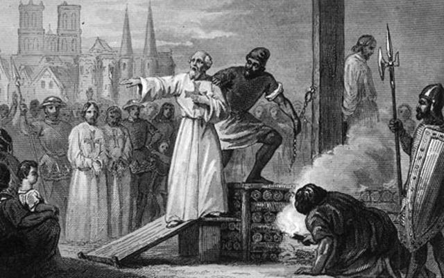 Extermination of the Knight's Templar