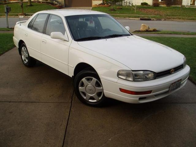 mom gets her first car, 1994 toyota camry