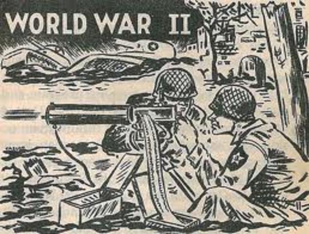 WW2 started,