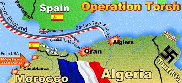 Operation Torch in Action