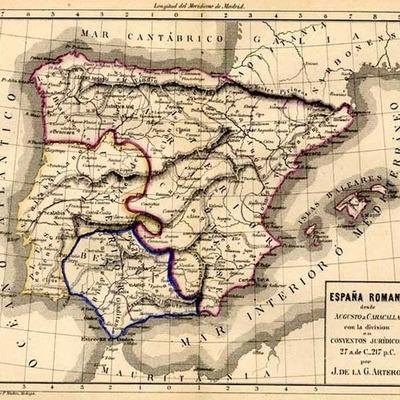 Eje cronológico historia de España timeline