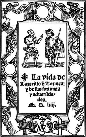 Publicación de La vida de Lazarillo de Tormes y de sus fortunas y adversidades