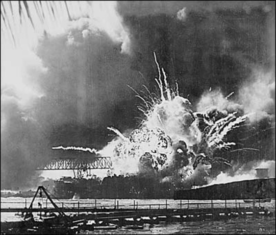 The Japanese Attack Pearl Harbour