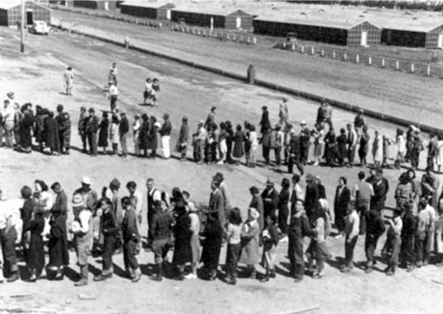 Japanese Canadians are put into Internment Camps