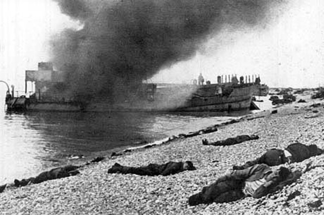 The Battle at Dieppe