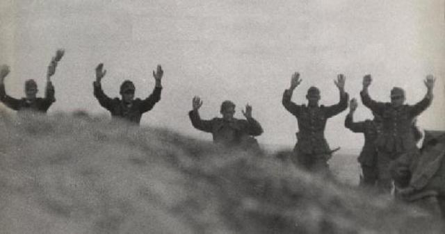 Germany surrenders in Holland