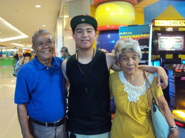 Grandma moves back to the Phillippines