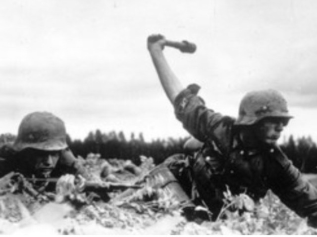 German Deep in Soviet Union