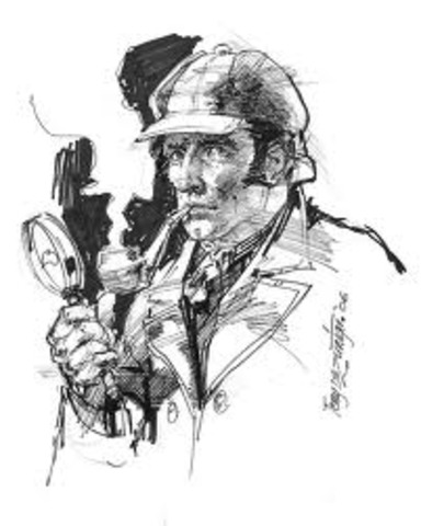 The insparation on Sherlock Holmes cerated