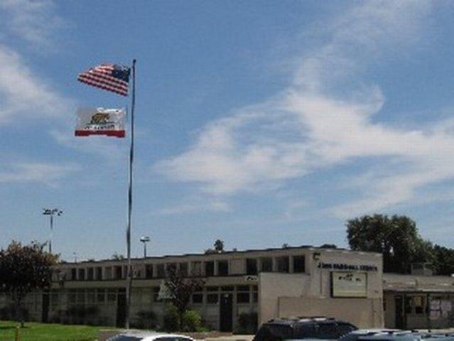 I started kindergarten at John Marshall Elementary School.