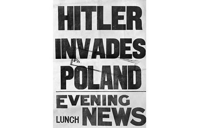 Poland is invaded by Hitler