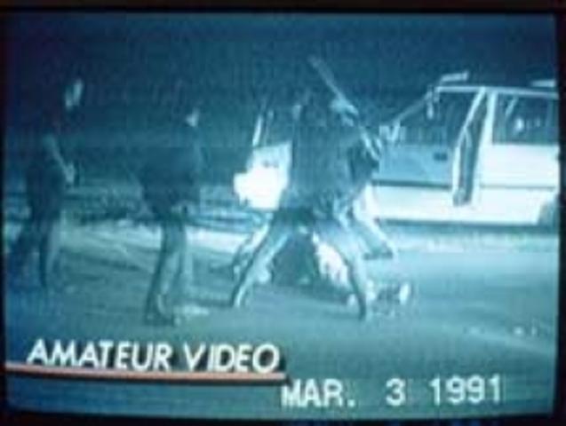 Riots in LA after Rodney King is beaten