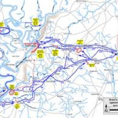 Battle of Vicksburg 1863 timeline