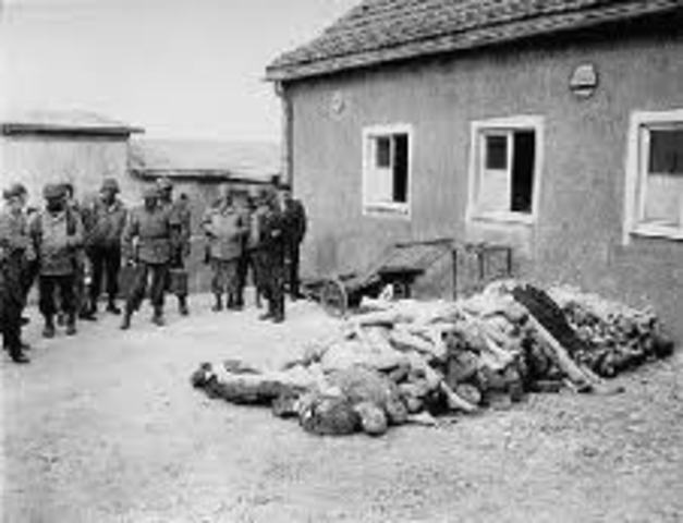 American and British Troops found camps