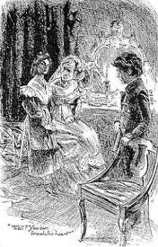 Pip meets Estella and Ms. Havisham