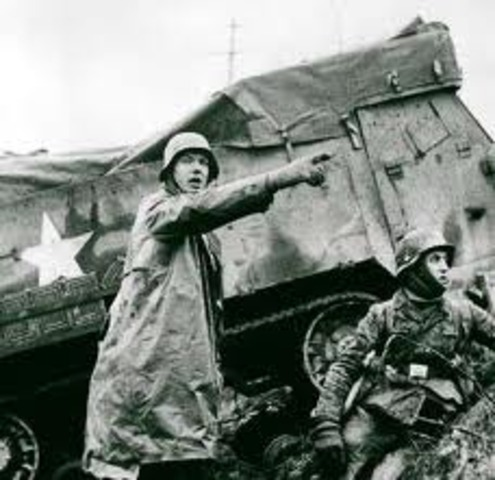 Allied Forces won Battle of the Bulge
